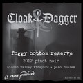 2012 Foggy Bottom Reserve Pinot Noir